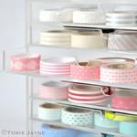 Washi tape organised