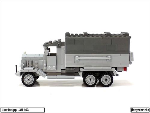 Camión Krupp L3H 163 de Panzerbricks