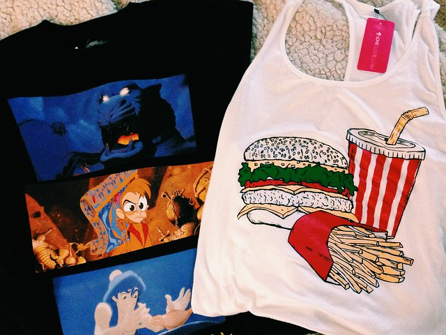 haul aladdin and tanktop
