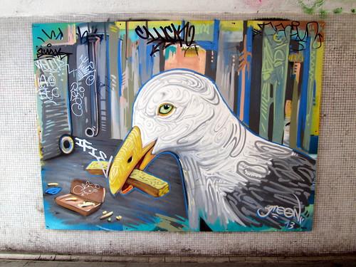 Graffiti at the Bearpit