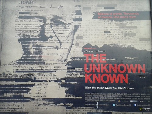 The Unknown Known: What You Didn't Know You Didn't Know starring Donald Rumsfeld