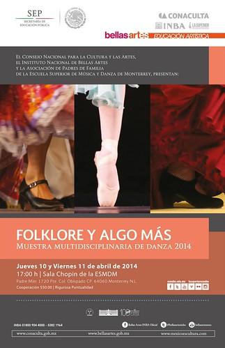 Folklore y Algo Más - Muestra Multidisciplinaria de Danza