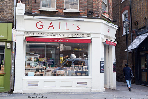 SoHo location of GAIL's Artisan Bakery