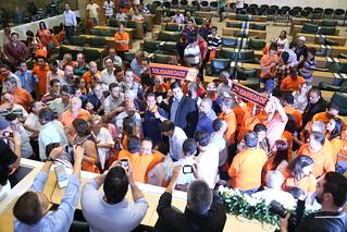 Público e estrutura do 1º Encontro Estadual do Solidariedade-SP