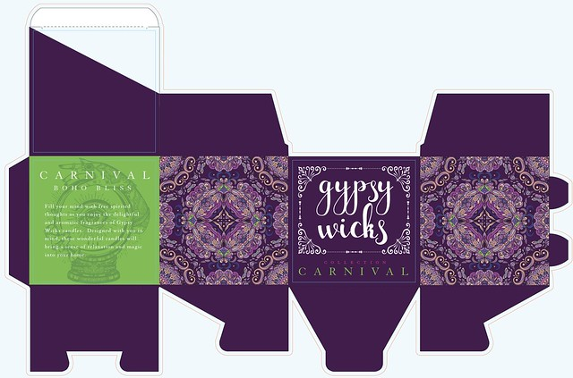 Gypsy Wicks Packaging Concept