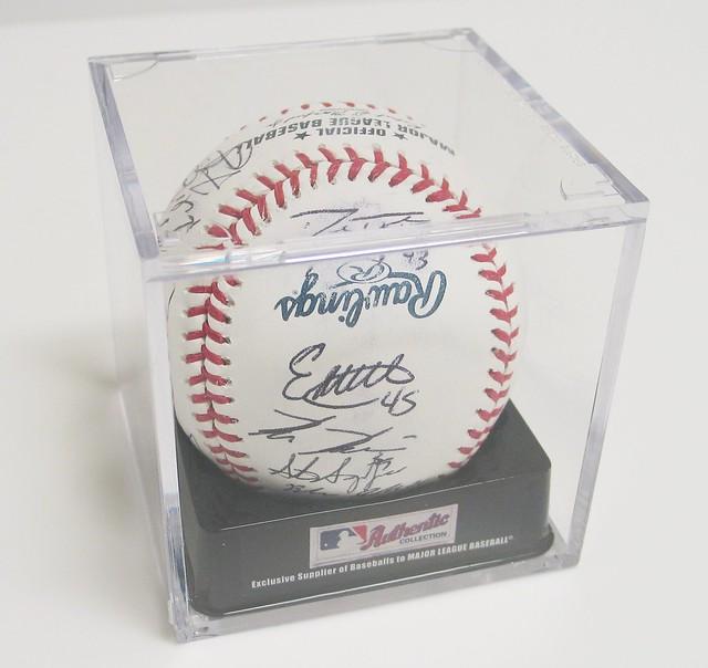 Signed Commemorative Baseball