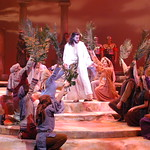 Jesus Christ Superstar - Arvada Center 2017 - Ensemble and Jesus of Nazareth (Billy Lewis Jr.) P. Switzer Photography 2017