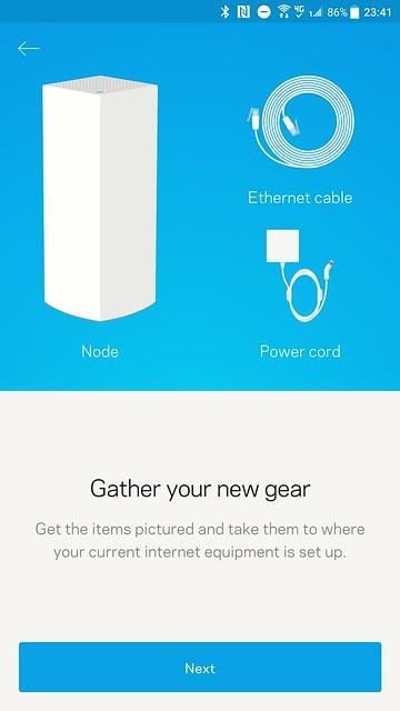 Velop App - Setup #5