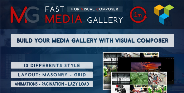 Fast Media Gallery For Visual Composer v1.0