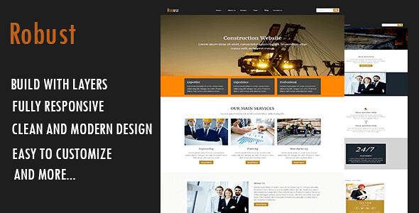 Robust WordPress Theme free download