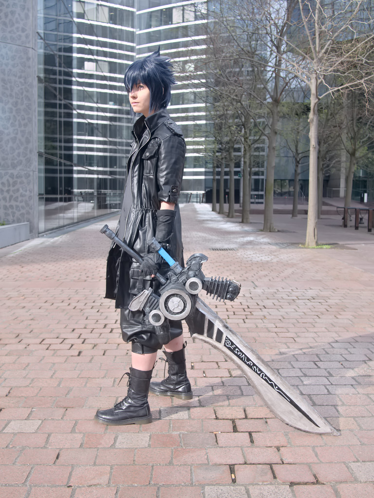related image - Shooting Final Fantasy XV - La Défense -2017-04-01- P2030020