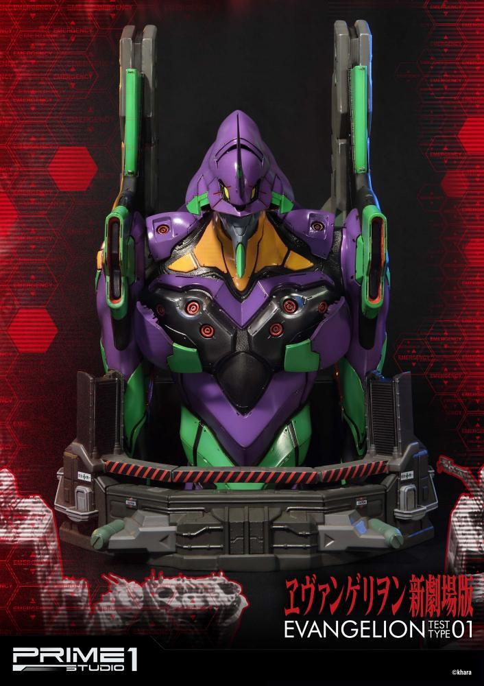 Prime 1 Studio - Premium Bust系列《福音戰士新劇場版》汎用人型決戰兵器 人造人 福音戰士 初號機 エヴァンゲリオン 初号機