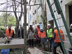 Visiste de l'immeuble Le Guérandais - 21/03/17
