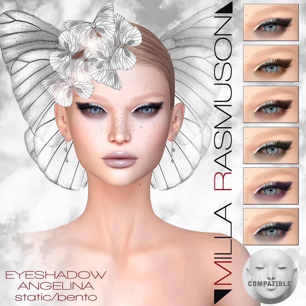 """MRM """"Angelina""""eyeshadow  Lelutka - SecondLifeHub.com"""