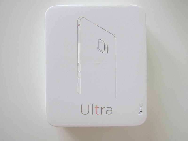 HTC U Ultra - Box Front