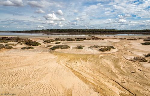 australia lakekenyon murraysunsetnationalpark pinklakes victoria clouds lake landscape water waterflow