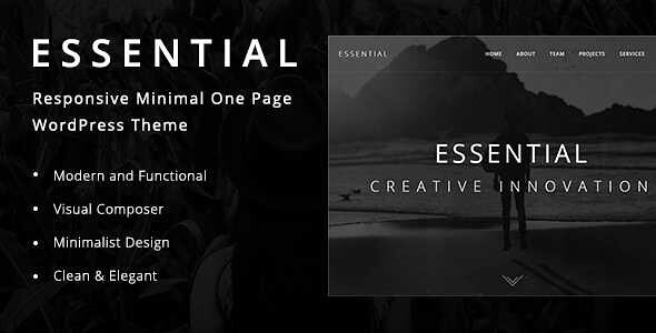 Essential WordPress Theme free download