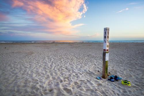 sunset bech sullivansisland charleston southcarolina nikon d610 clouds bluesky colorfulsunset sunrise curtiscabana