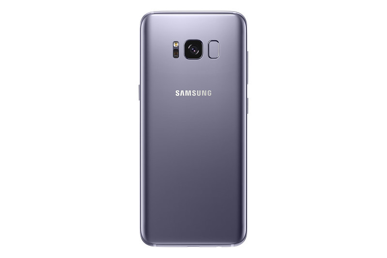 Samsung Galaxy S8 - Orchid Grey - Back