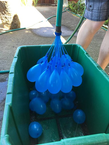 water balloon production