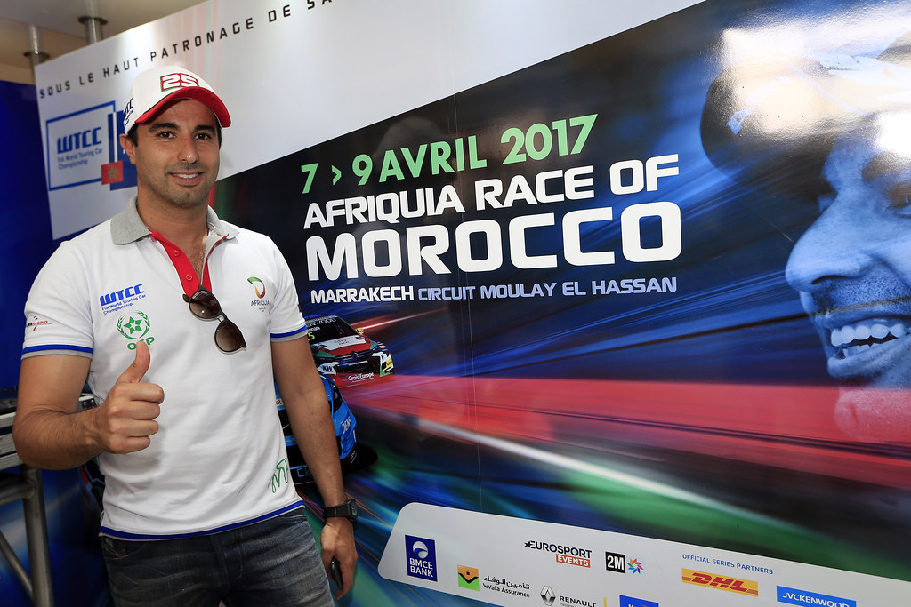 BENNANI Mehdi (mor) Citroën C-Elysée team Sébastien Loeb Racing ambiance portrait during the 2017 FIA WTCC World Touring Car Race of Morocco at Marrakech, from April 7 to 9 - Photo Paulo Maria / DPPI