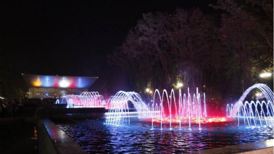 Театрализованное открытие сезона фонтанов города Краснодара «Музыка фонтанов»