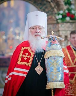 Литургия в Иверском монастыре 750