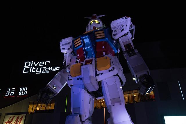 GUNDAM at TOKYO, Japann, Sony ILCE-7, Sigma 18-200mm F3.5-6.3 DC