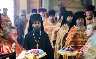Литургия в Иверском монастыре 760