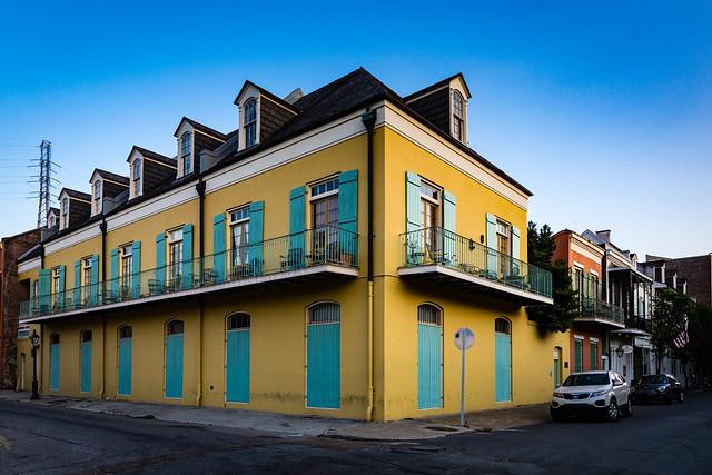 Architecture in the French Quarter - NOLA