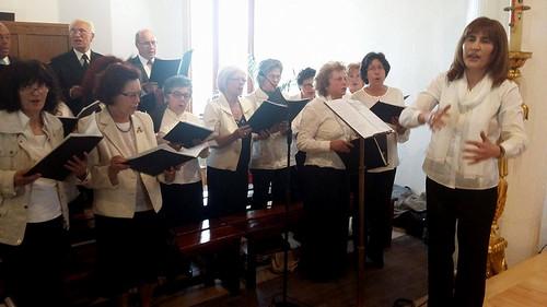 Benção e dedicação do novo Altar