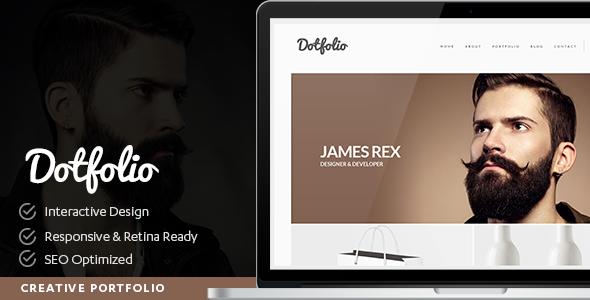 Dotfolio v1.0 - Creative Portfolio for Creative People Theme