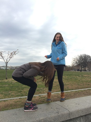 Seeeeesters at the Washington Monument