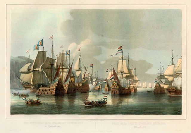 Dutch capture  Spanish treasure fleet