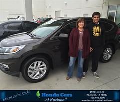#HappyBirthday to Deborah from Jim Rutelonis at Honda Cars of Rockwall!