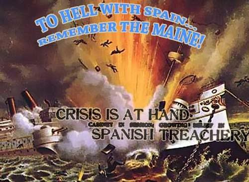 Maine war poster