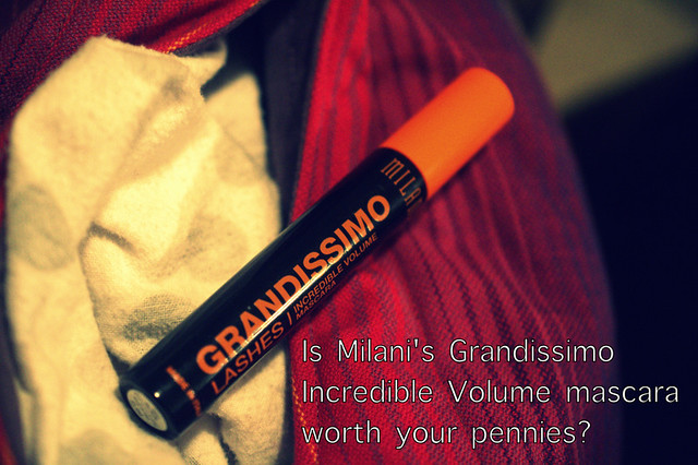 Mascara Monday: Milani Grandissimo Lashes mascara