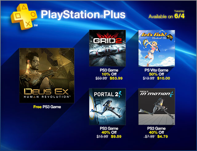 PlayStation Store Update 6-4-2013