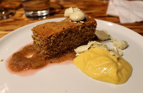 Almond-Cornmeal Cake
