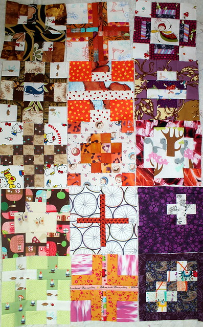 Tula Pink's City Sampler Quilt Along