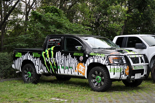 NISSAN TITAN MONSTER ENERGY EDITION
