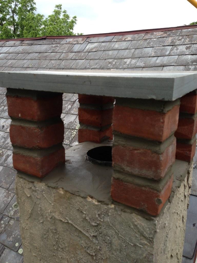 Stone Chimney Caps : Chimney caps and covers home hearth masonry