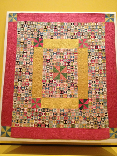 Quilted patchwork of ribbons 1770