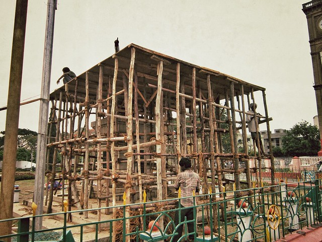 Building work in Mysore