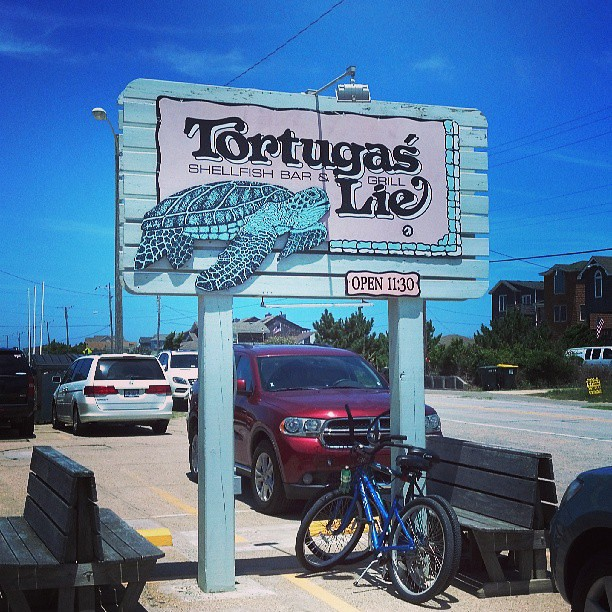 Great to see you old friend! #obx #tortugas