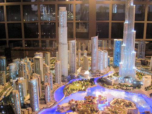 Amazing Downtown Dubai Model