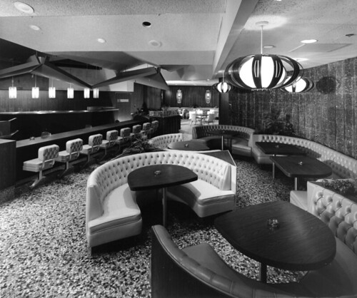 Lyons Coffee Shop Dining Room 1960s