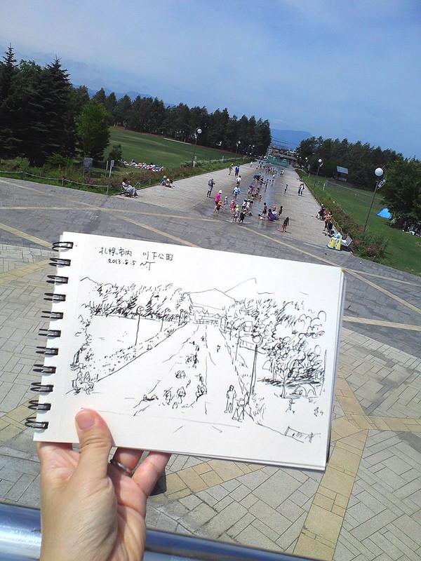 札幌・川下公園-1