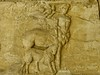 A frieze depicting a centaur recovered from the ancient Roman theater at Orange, France 2nd century CE (3)