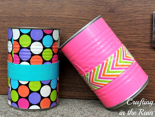 duck-tape-pencil-holders